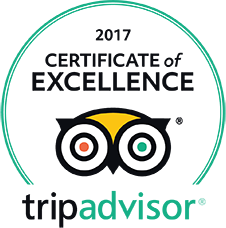 TripAdvisor Certificate of Excellence - Restaurant Pet Bunara Zadar Croatia